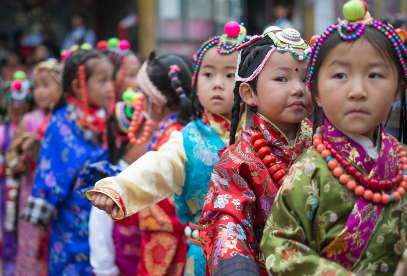 Anak-Anak di Tibet