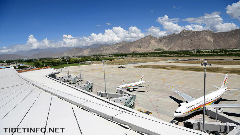 Terminal terbesar Tibet dibuka untuk operasi di Bandara Lhasa Gonggar