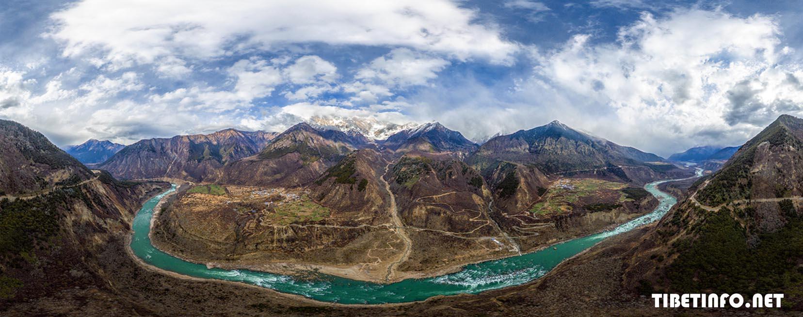 Keindahan Alam Ketika Menaiki Kereta Api Baru Tibet Dari Lhasa Ke Nyingchi